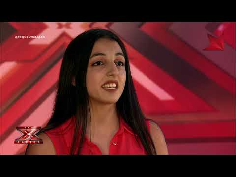 X Factor Malta - Auditions - Day 2 - Anthea Mifsud