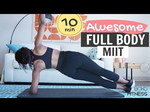 MEDIUM INTENSITY INTERVAL TRAINING (MIIT) | Full body Home Workout | Koboko Fitness