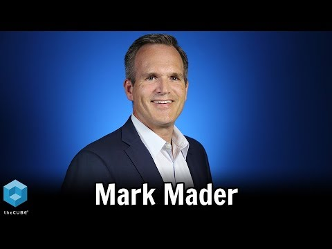 Mark Mader, Smartsheet | CUBEConversation, August 2018