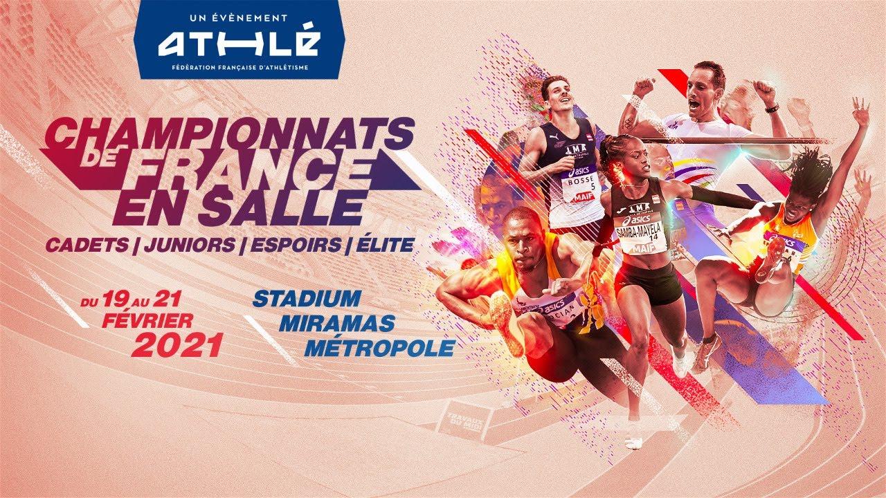 Championnats de France d'athlétisme en salle Elite et jeunes 2021