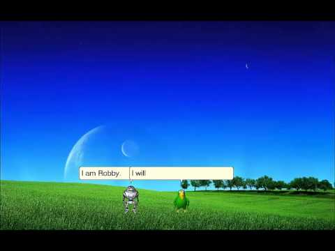 Microsoft Agent - Robby and Peedy - Echo mode