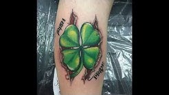 45 Cute Four Leaf Clover Tattoo Ideas and Designs – Lucky Plant