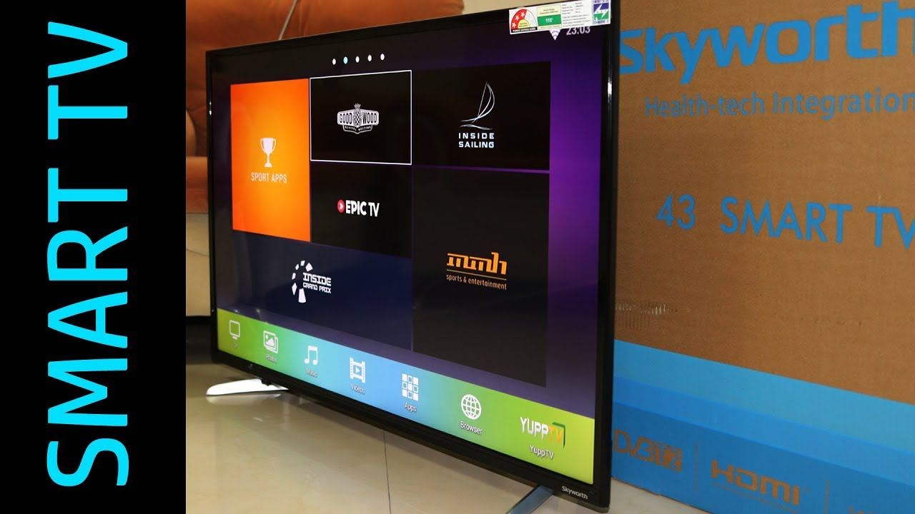 Skyworth smart 43 M20 Full HD LED Smart TV price starts from Rs. 12,999 - YouTube