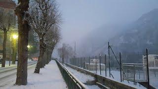 Снежная Франция.  Жизнь во Франции