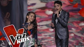 Jorge Nasra and Maite sing Amapola | Fanny Lu and His Friends | The Voice Kids Colombia 2019