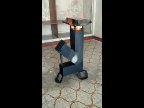 Mechero rocket stove para disco de arado youtube for Planos para cocina rocket