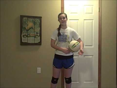 How To Do Over-Hand Serves In Volleyball