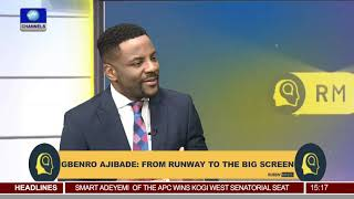 Gbenro sits with Ebuka as they speak on his film career