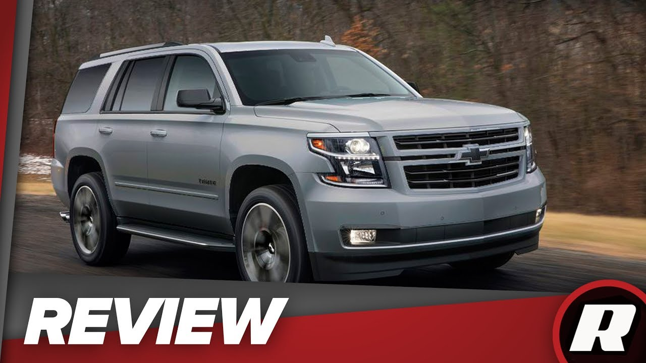 2018 Chevrolet Tahoe RST: A sleeper of an SUV
