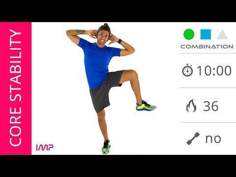 Core Stability: Esercizi Per Dimagrire Fianchi e Girovita