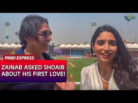In Conversation With Zainab Abbas   Talking About Women Empowerment   Shoaib Akhtar   News