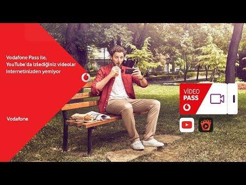 Vodafone Pass Video ile Gigabyte Sayma Devri Bitiyor!