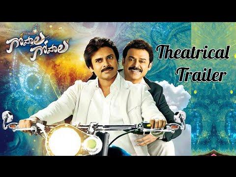 Gopala Gopala Theatrical Trailer -  Pawan Kalyan , Venkatesh, Shriya Saran