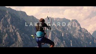 """Aaron Hadlow and Gianmaria Coccoluto in """"LAKE GARDA"""" - a Kitesurf Slow motion movie"""