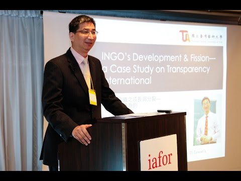 An INGO's Development and Fission: A Case Study on Transparency International by Dr. Ernie Ko