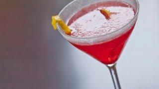 Seasonal Lemon Drop Cocktail - Kathy Casey's Liquid Kitchen - Small Screen