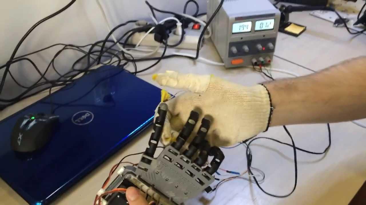 Рука манипулятор на ардуино своими руками