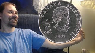 Canada 25 Cents 2007 - Alpine skiing Coin
