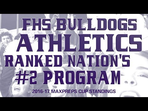 FHS Athletic Program Ranked #2 in the Nation