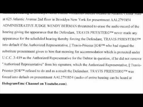 NOTICE OF DEFENSE & CLAIM IN RECOUPMENT UNDER UCC 3-305 & 3-306 ON ...