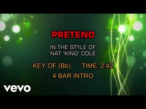 Nat King Cole - Pretend (Karaoke)