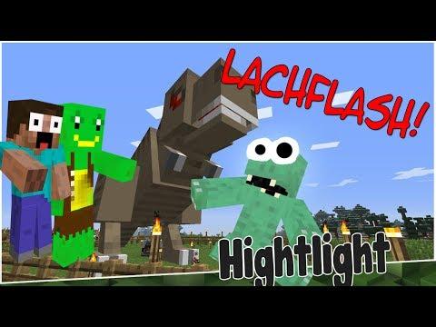 HIGHLIGHT: Zander eskaliert - LACHFLASH PUR! - aus JurassiCraft #014   Earliboy