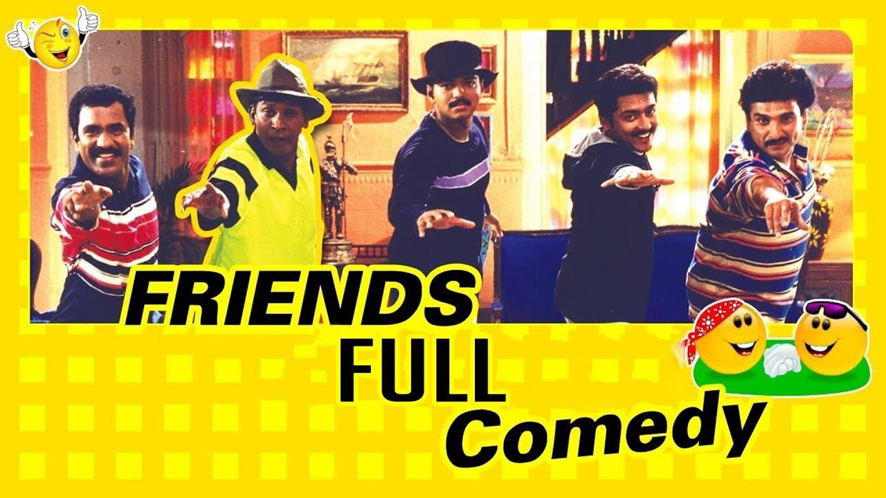 Download Friends Full Comedy Scenes   Vijay   Vadivelu   Surya   Ramesh Kanna   Vadivelu Comedy Scenes