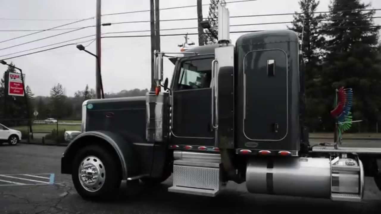 Used Peterbilt 389 Flat Top Sleeper │Charter & Company Truck Sales ...