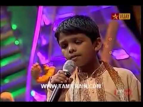 Airtel Super Singer Junior2 - Deepavali Special - Roshan.mp4