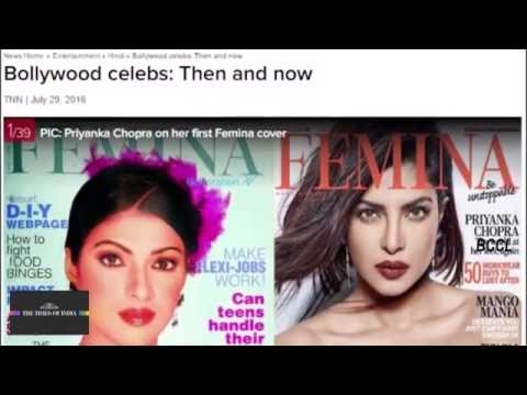 Priyanka Chopra on her first Femina cover