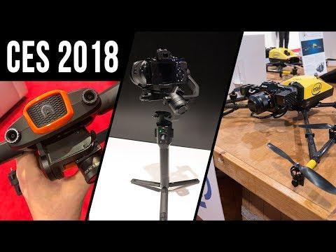 CES 2018: My Favorite Drone Tech!