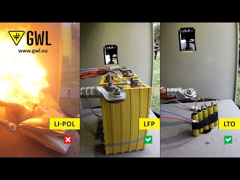 Dangerous vs. Safe batteries, Explosion and fire test!