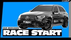 Wie funktioniert der RACE START in DEINEM Mercedes? I 4k