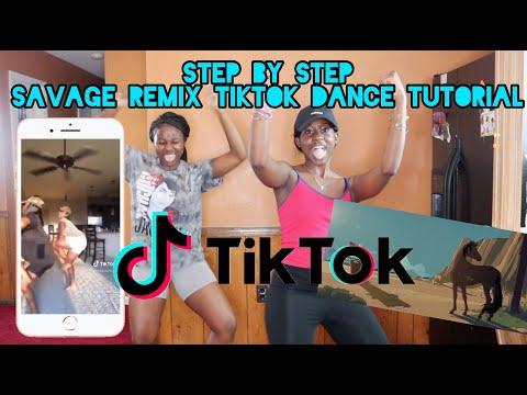 Savage Remix Dance Tutorial (Step by Step) | Dance Created by NaeNae Twins | Viral TikTok Dance