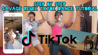 Welcome to fantalina tv this is a step by tutorial the savage remix viral tiktok dance naenae twins. song: megan thee stallion...