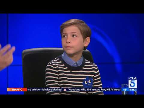 "Jacob Tremblay Reveals Why he Pursued his Part in ""Wonder"""