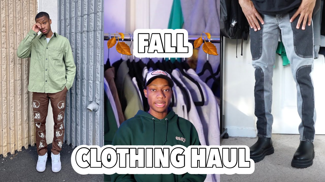 HUGEE MEN's FALL TRY ON CLOTHING HAUL 2021
