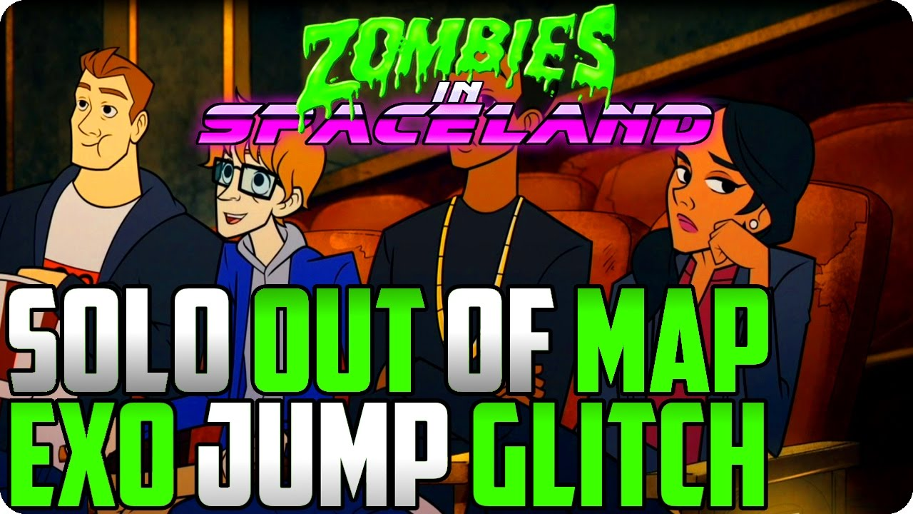 Zombies In Spaceland Glitches: Solo Out Of Map With Exo Jump Glitch - IW  Glitches
