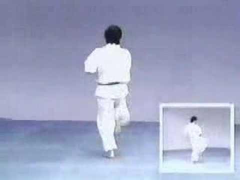 Kyokushinkai karate Kata Kanku