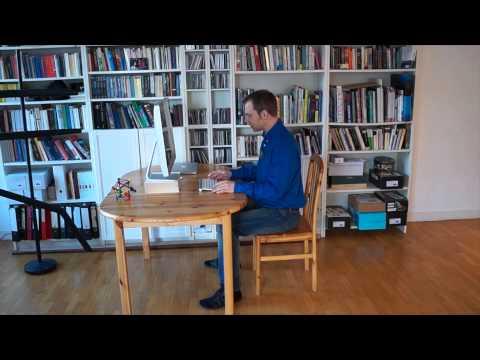 Ergonomie Am Arbeitsplatz 3 Position Von Tastatur Und Monitor Youtube