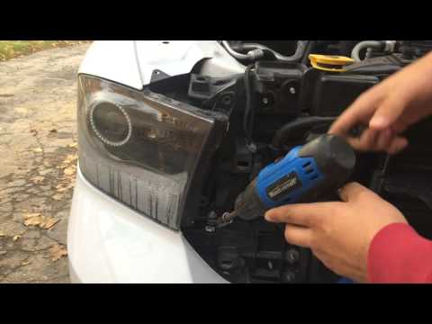How To Remove Headlights From An 2013 - 2018 Dodge Ram