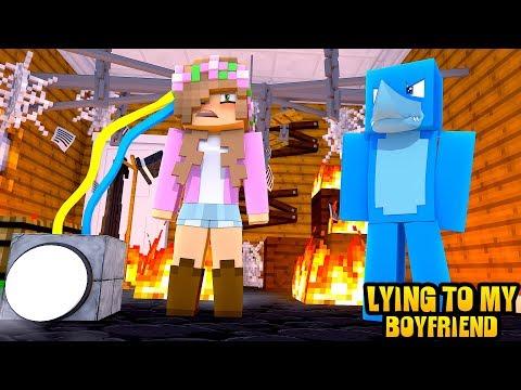 LITTLE KELLY LIES TO HER BOYFRIEND   Minecraft Little Kelly Plays