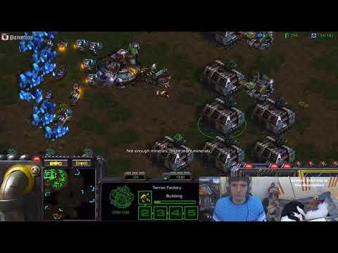 StarCraft Remastered - 1v1 Artosis' Games of SC:R (T) vs laered (P) Longinus