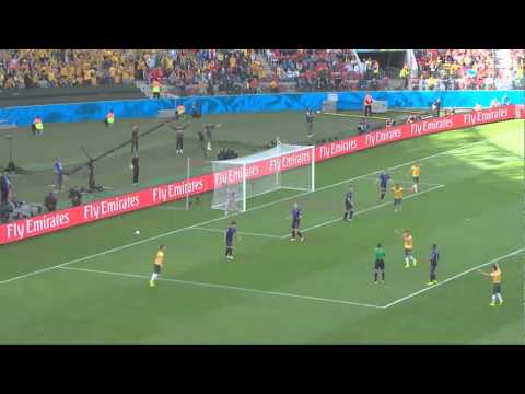 Australia 2-3 Netherlands World Cup 2014 All Goals and Highlights