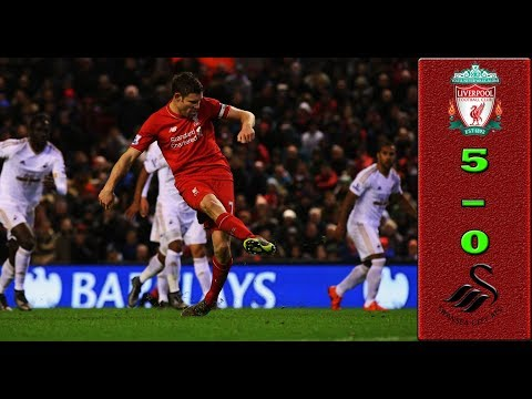 5-0 Liverpool  VS Swansea City Goals And Highlights | Last Matches 2017 ● HD