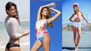 Ella es la hermosa modelo israelí Coral Simanovich, pareja del jugador del Barça Sergi Roberto