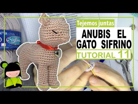 GATO AMIGURUMI parece REAL 🐈 tutorial 11  ❤️ Amigurumi de SAN VALENTIN ❤️