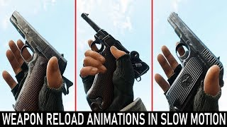 BATTALION 1944 - All Weapon Reload Animations In Slow Motion