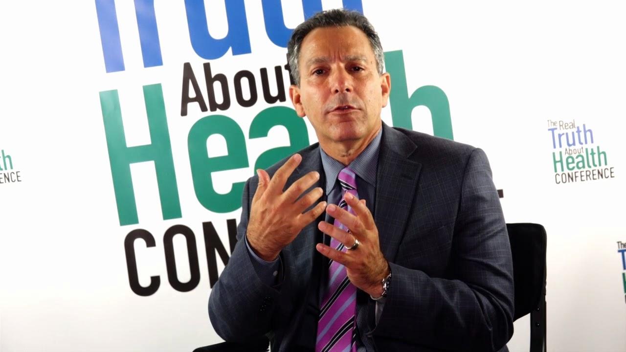Joel Kahn M D  - 2016 Offstage Interview on Heart Disease