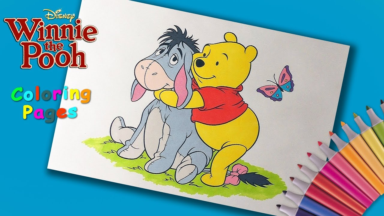 Pooh Face Coloring Pages - Coloring Home | 720x1280